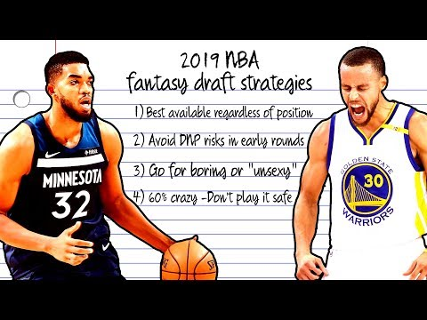 Fantasy Basketball: What Is The Best 2019 Draft Strategy? | NBC Sports