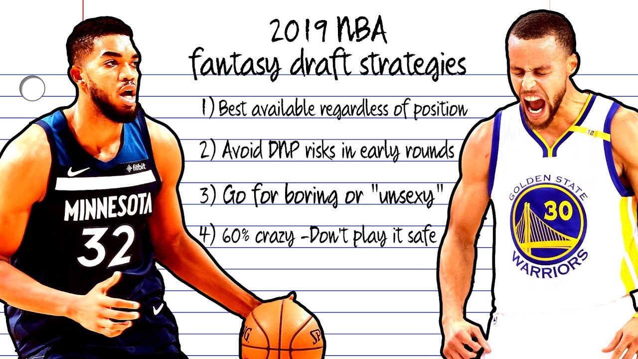 Fantasy Basketball What Is The Best 2019 Draft Strategy Nbc Sports