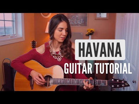 Havana - Camila Cabello   Easy Fingerpicking Guitar Tutorial