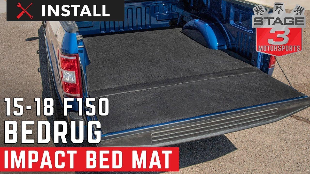 2015 2018 F150 Bedrug Impact Bedmat Install Youtube