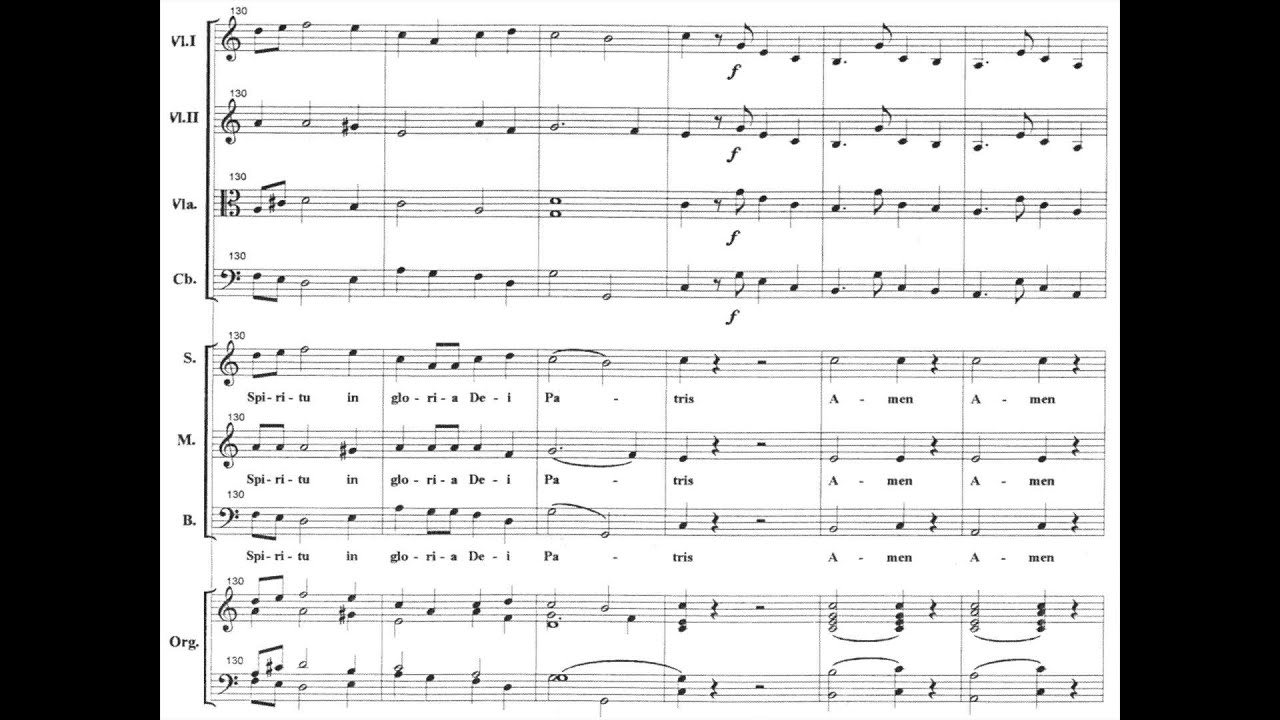 O Salutaris - No. 6 from Mass No. 11 in A major
