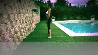Pilates amb pes (1,5-2 kg). Nivell mig-avançat