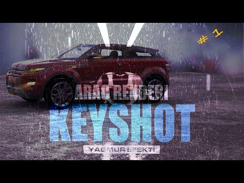 Keyshot İle Stüdyo Yağmur Efekti Oluşturmak Ve Araç Renderi