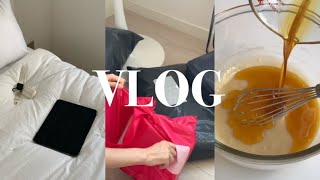 휴학생 일상 브이로그 | 홈베이킹 브이로그 | 화이트 …