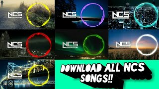 How To Download all NCS Music in One Zip || Unique Videos || 2019