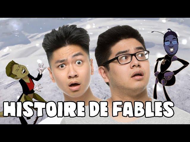 UNE HISTOIRE DE FABLES ! - LE RIRE JAUNE