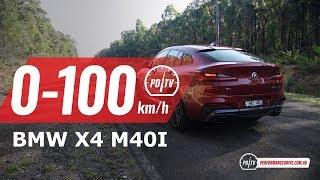 2019 BMW X4 M40i 0-100km/h & engine sound