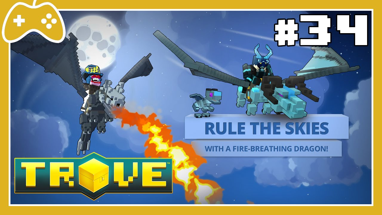 trove how to get dragon fragments