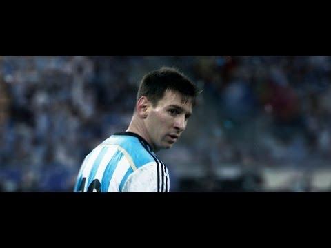 FIFA World Cup Brazil - Messi Xavi Özil : Adidas Spot Video (Edited)