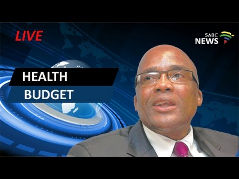 Health Minister presents his budget for 2016