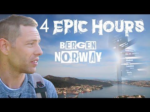 4 HOURS IN Bergen, Norway - VLOG #42