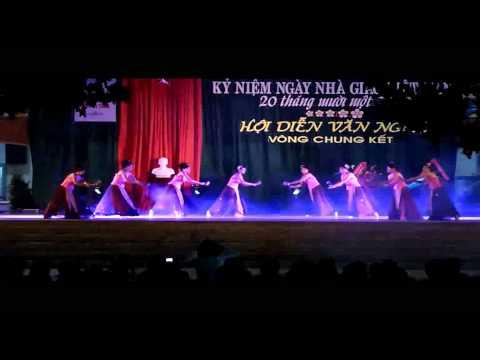 Múa Quạt Giấy - 10TA1 - Vòng chung kết