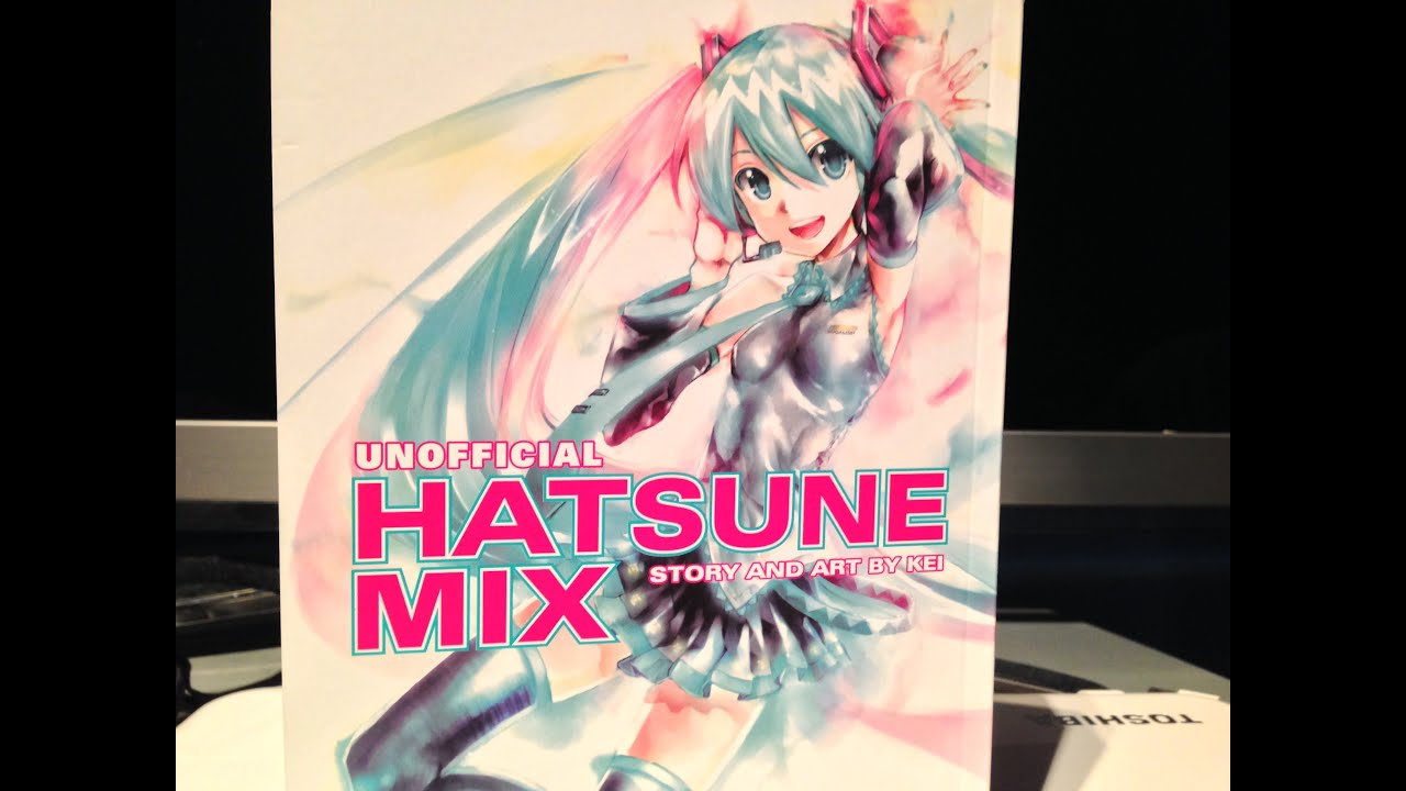 hatsune miku manga unofficial mix by dark horse and kei