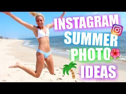 INSTAGRAM SUMMER PHOTO IDEAS BEACH Instagram