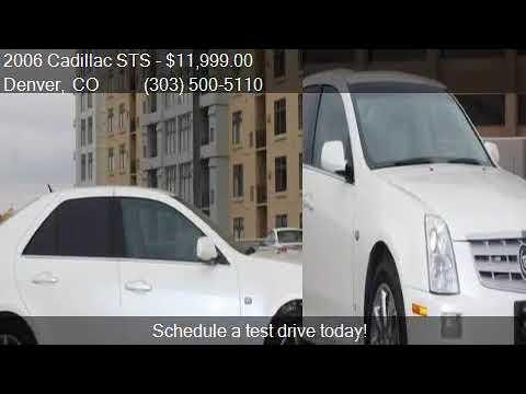 2006 Cadillac Sts V8 Awd 4dr Sedan For Sale In Denver, Co
