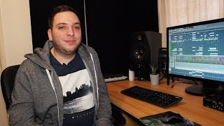 In the studio with James Dymond Resimi