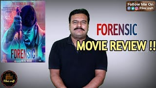 Forensic Malayalam Movie Review In Tamil By Filmi Craft Arun Akhil Paul Anas Khan Tovino Thomas Youtube