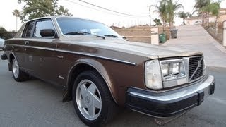 Volvo Bertone 262C Coupé 242 262 Brick 240 For Sale Test Drive Video 1 Of only 912