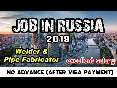 Job In Russia 2019 | Excellent Salary | Kolkata Interview 10th & 11th April 2019