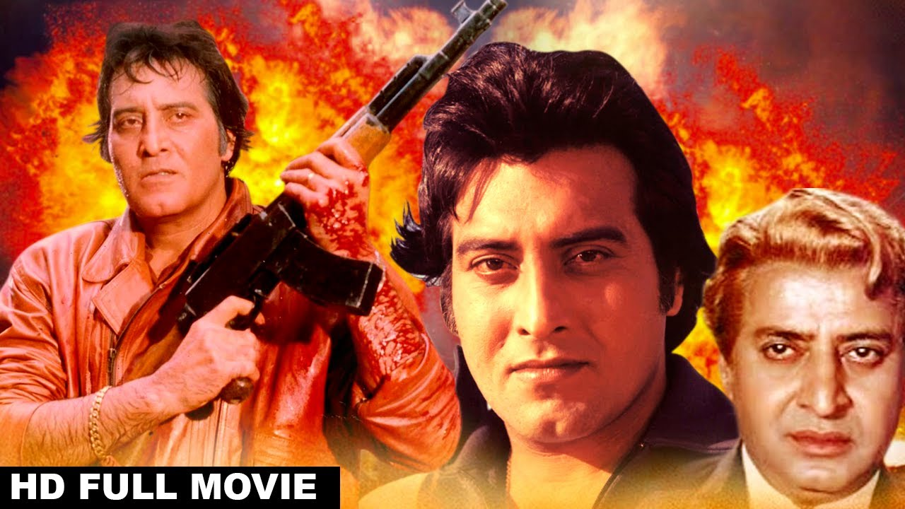 Taaqat - Vinod Khanna, Parveen Babi - Super Action Movie - HD 1981