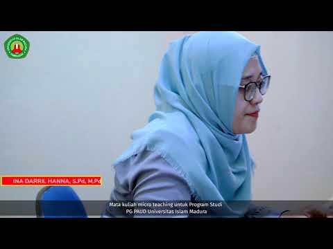 Laboratorium Micro Teaching. PG PAUD UIM Pamekasan