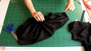 ELBİSE NASIL DİKİLİR / GERİ DÖNÜŞÜM/HOW TO SEW ON THE DRESS / RECYCLING /THRİFTED TRANSFORMATİON/DIY