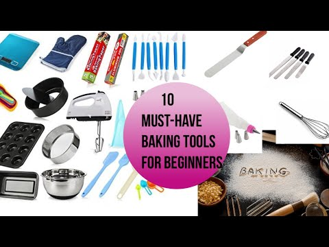 10 Baking Tools Every Baker Needs   Must-have    For Beginners   Cake Business
