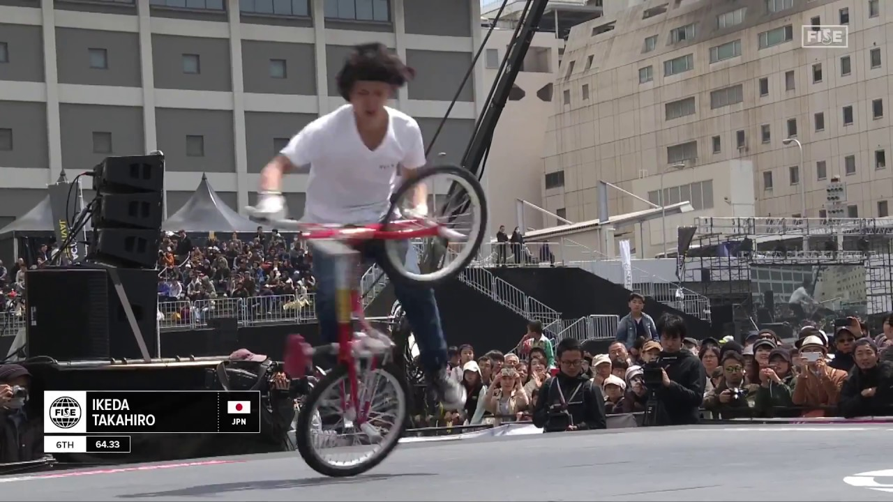 【世界大会】UCI BMX Freestyle Flatland World Cup 6位