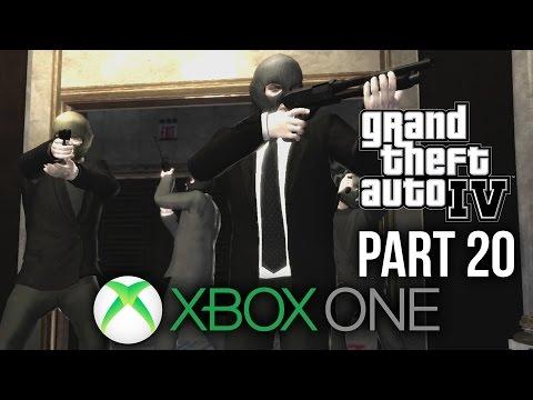 GTA 4 Xbox One Gameplay Walkthrough Part 20 - THREE LEAF CLOVER (BANK HEIST)