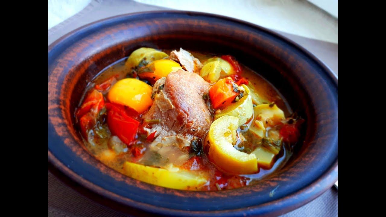 Томленое Мясо с Молодыми Овощами. Невероятно вкусное, ароматное и нежное блюдо.
