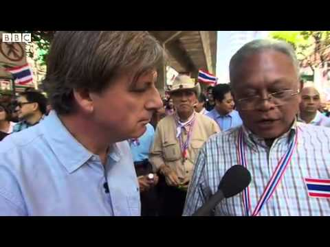 Thai protest leader Suthep Thaugsuban on 'tyrant' government