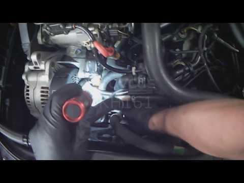 VW B4: 1.9L TDI Thermostat / Flange Removal