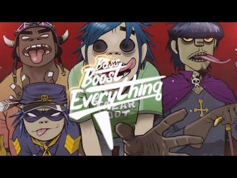 Gorillaz - Humility (Audix Remix) [Bass Boosted]
