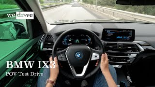 BMW IX3 | POV Test Drive