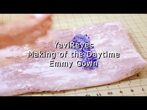 Making-of Daytime Emmy Awards Gown