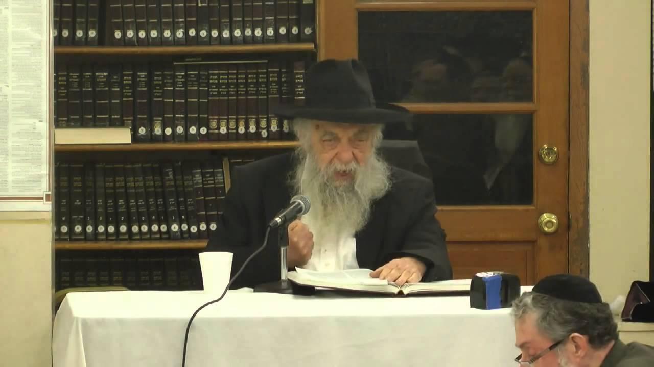 """תורה אור מגילת אסתר ד""""ה חייב איניש חלק ב'  - הרב יואל כהן (אידיש) תשע""""ג"""