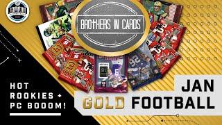 Brothers in Cards January GOLD FOOTBALL Box | PC BOOOOOOM!!!!!