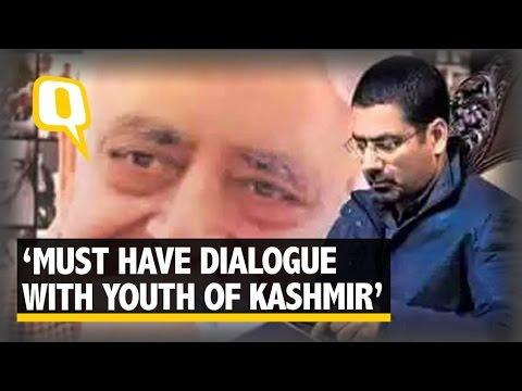 The Quint: Must Address The Problems J&K's Youth Face: Tassaduq Mufti