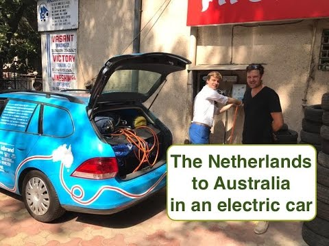 The PlugMeIn Project - The Netherlands to Australia in an electric car (SUBTITLES INCLUDED)
