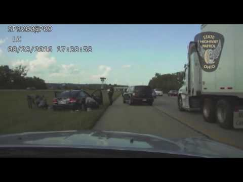FULL VIDEO: Dash cam video shows rescue after father, son overdose on heroin