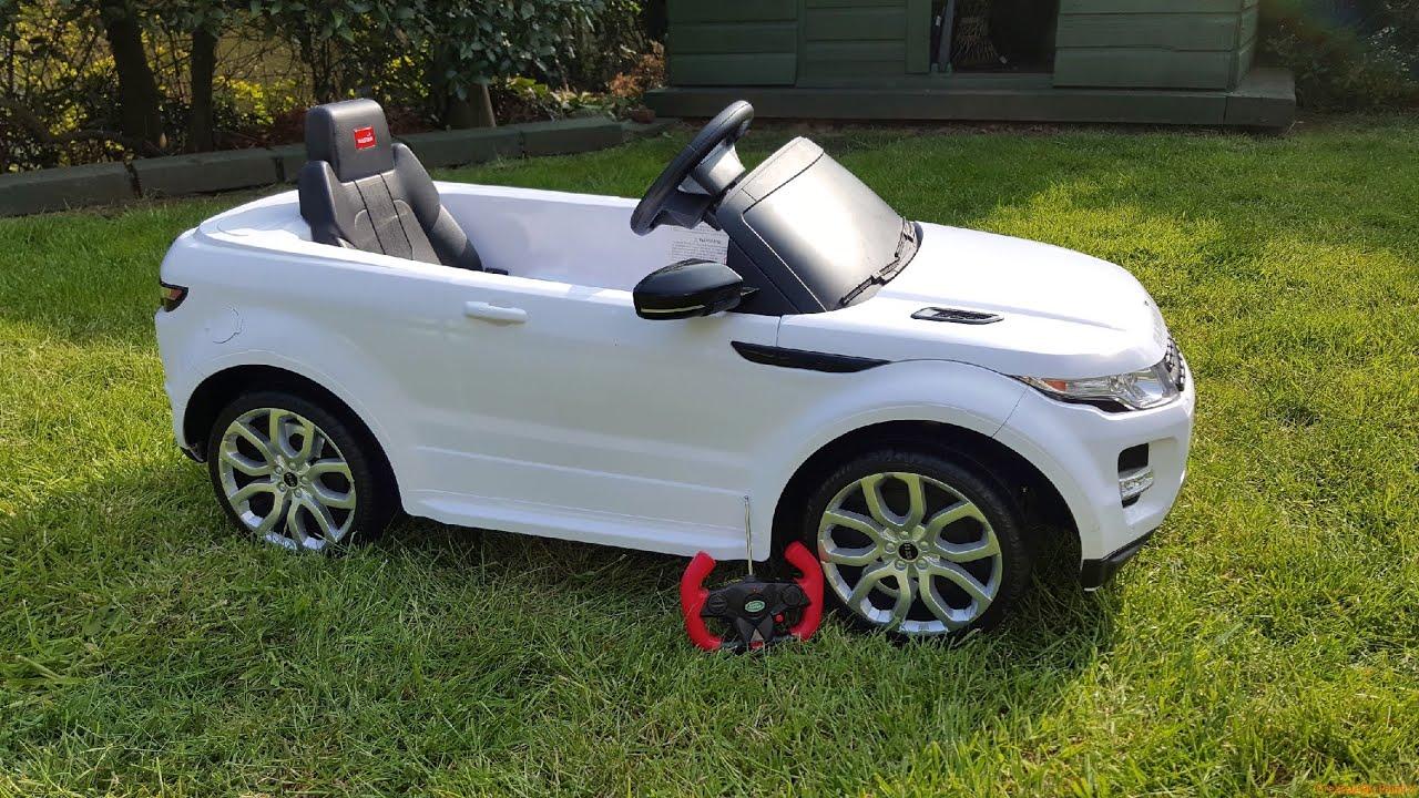 Rastar Range Rover Sport Electric Kids Ride On Toy Car Remote