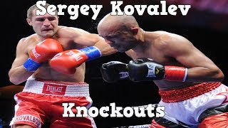 Sergey Kovalev - Highlights / Knockouts