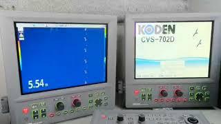 今回は、ゆうか丸の漁探知機を交換してみました‼   kODEN-CVS-8841-200...