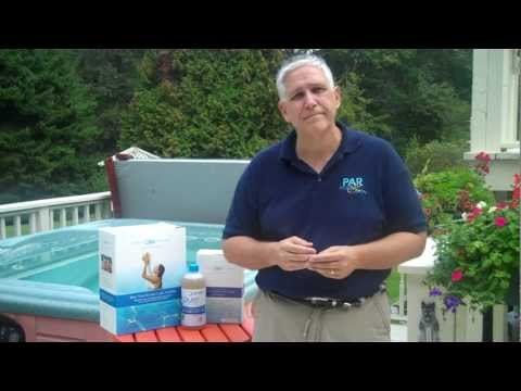 Spa hot tub mold basics doovi for How to get rid of pink algae in swimming pool