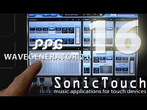 Sonic Touch 16 - PPG Wave Generator