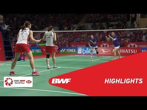 DAIHATSU Indonesia Masters 2019 | WD - F - HIGHLIGHTS | BWF 2019