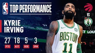 Kyrie Irving Drops 27 Points & Career-High 18 Assists