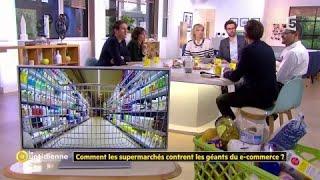 Comment les supermarchés contrent les géants du e-commerce ?