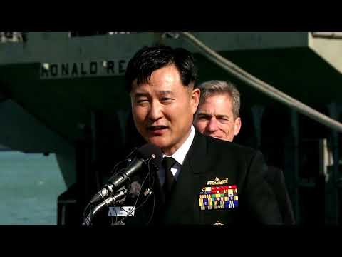 USS RONALD REAGAN STRIKE GROUP ARRIVED IN SOUTH KOREA AMID NORTH KOREA'S TENSION!