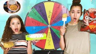 Mystery Wheel Cookie Challenge! (Gracie vs Sierra Haschak)